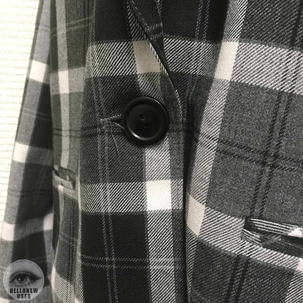 Monotone Check Tailored Jacket