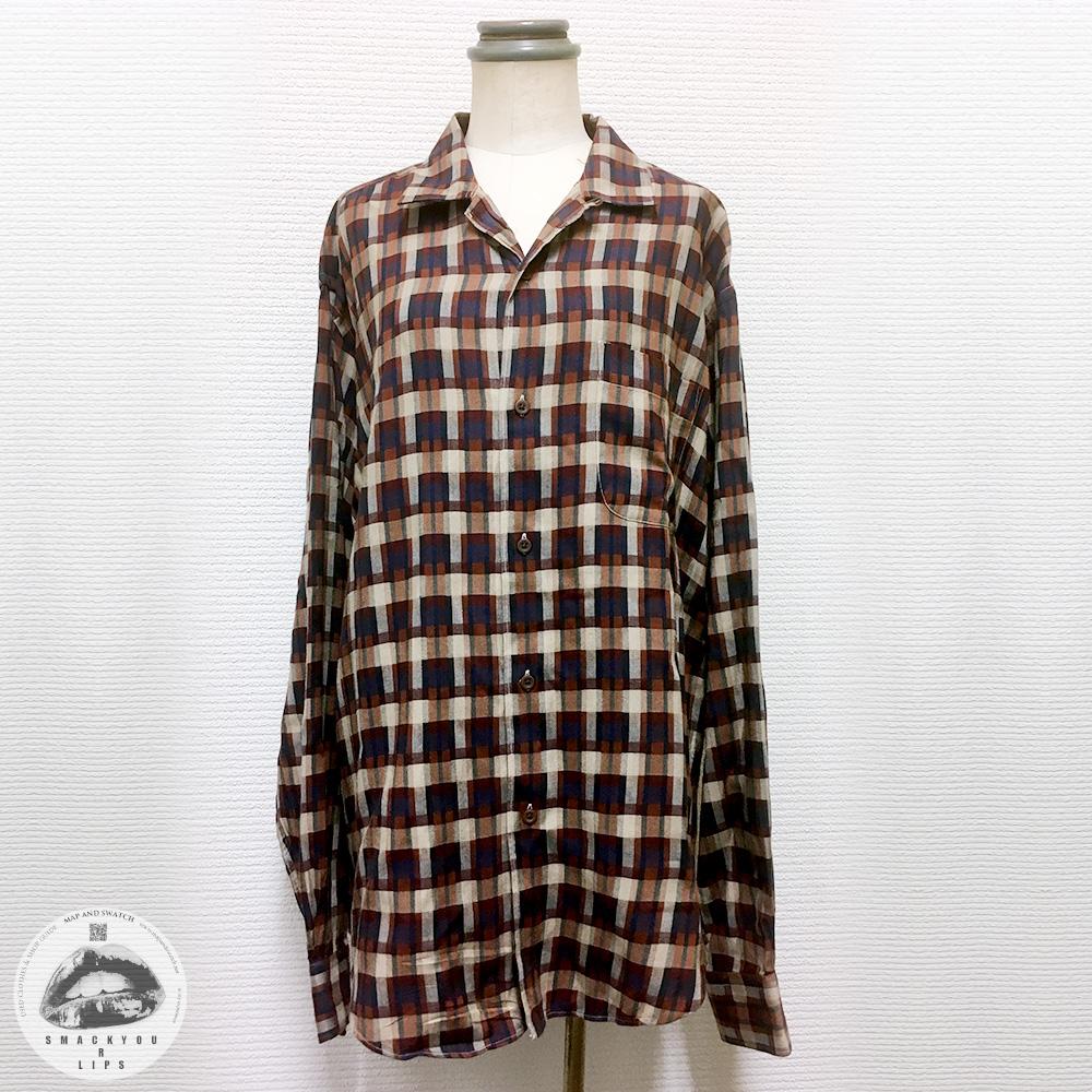 "Rayon Shirt ""Yves Saint-Laurent"""