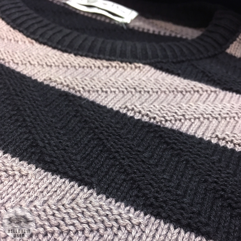"Loose Border Knit ""C.D."""