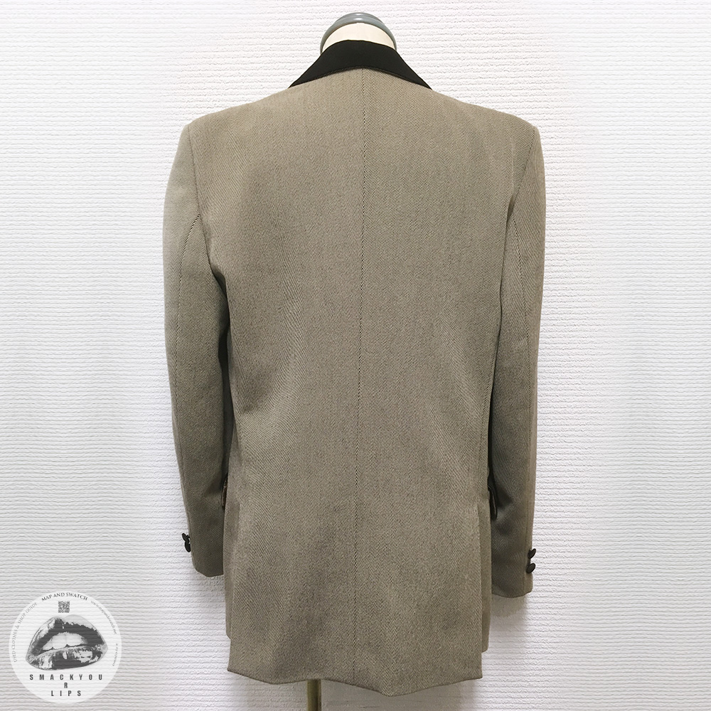 "Wool Gabardine Jacket ""EA"""