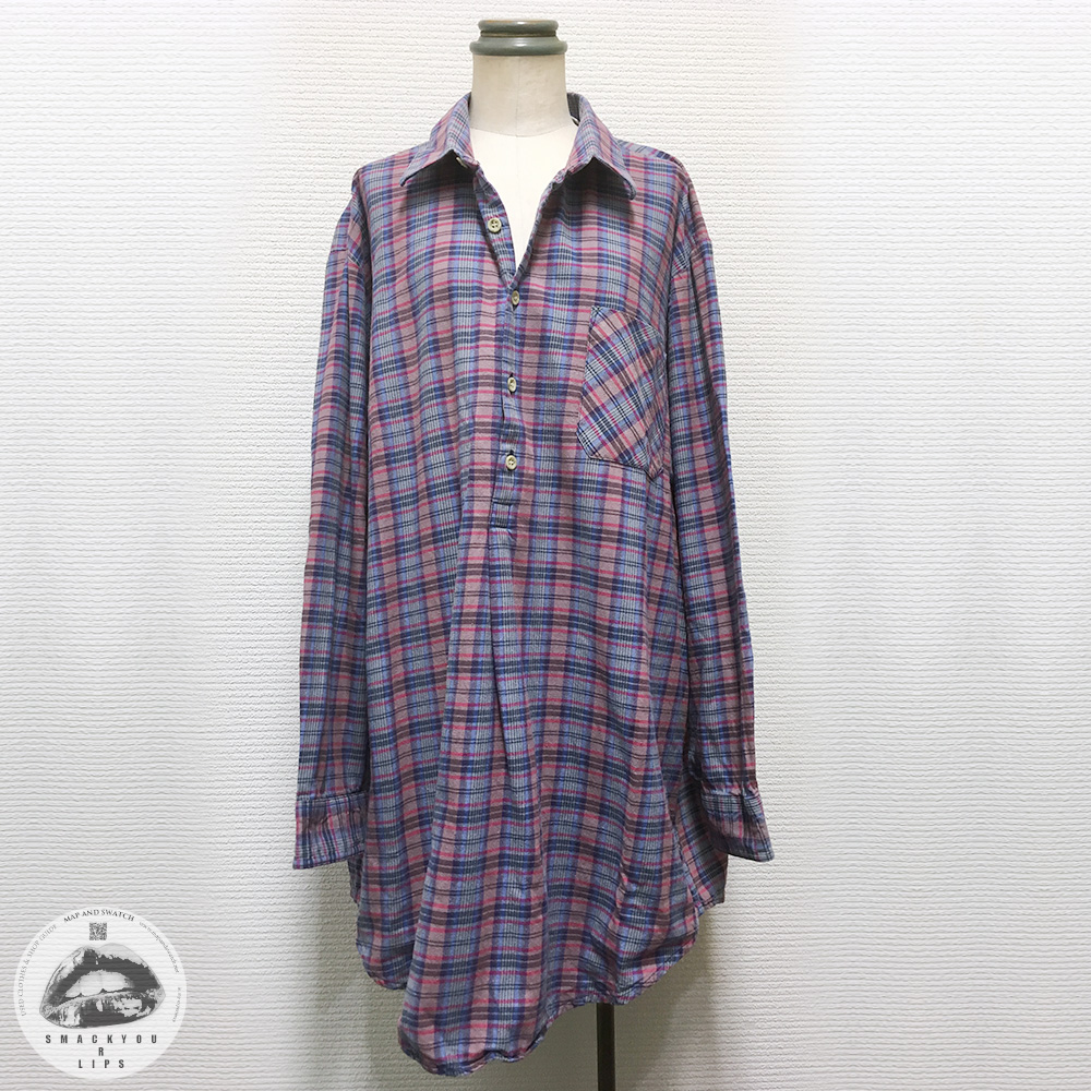 Check GrandFather Loose Shirt