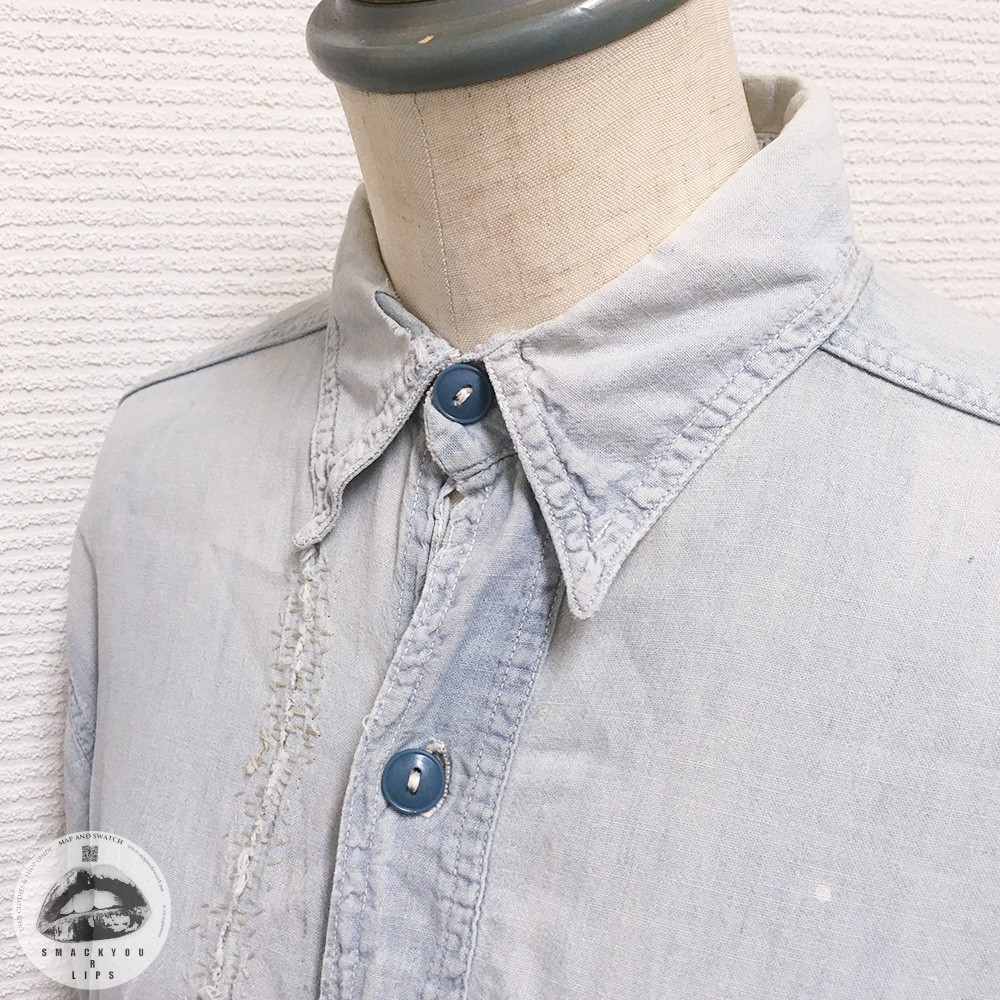 Vintage Military Chambray Shirt
