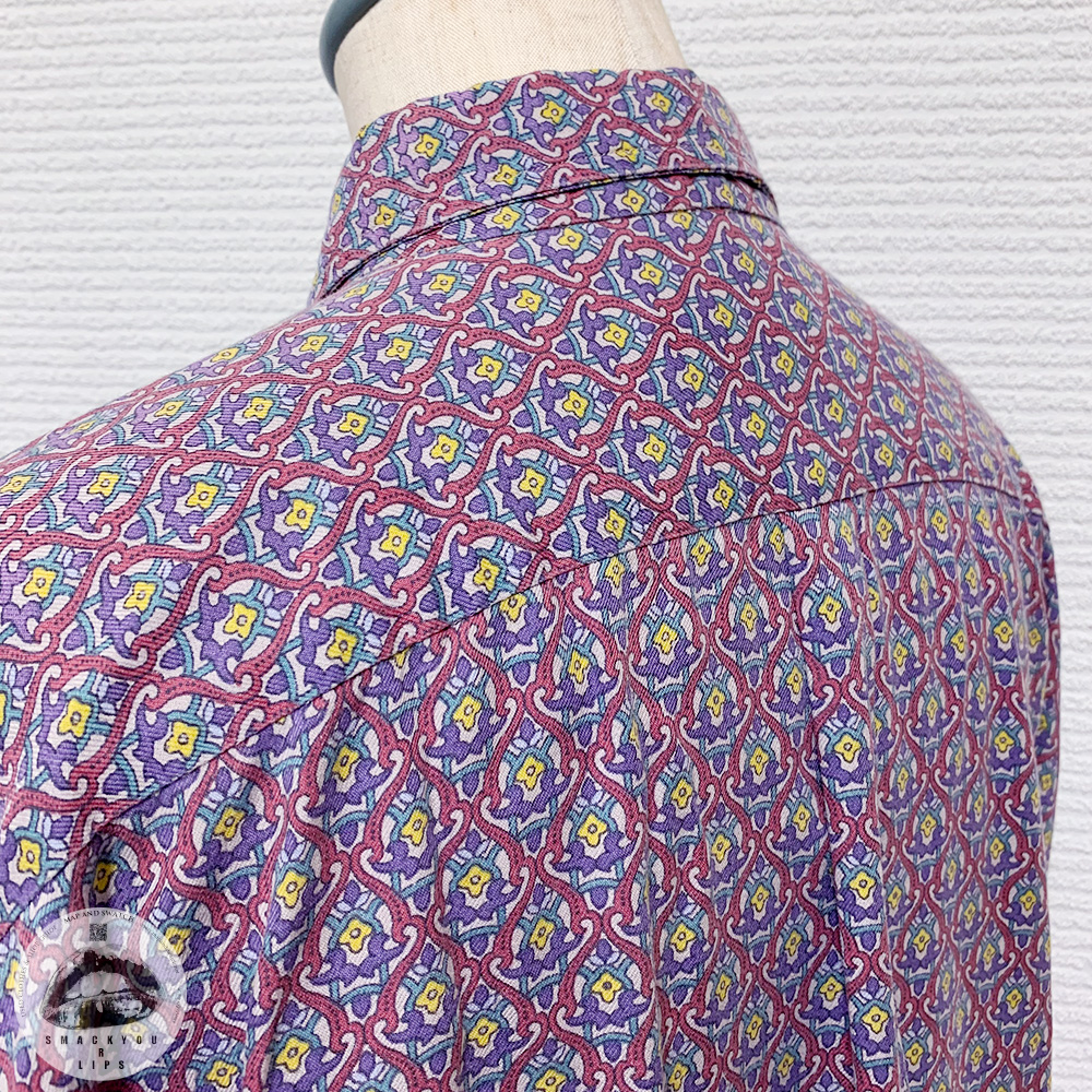 French Patterned Shirt