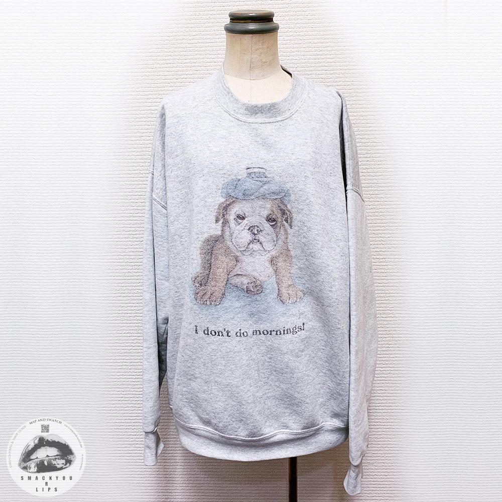 Dog on Sweatshirt