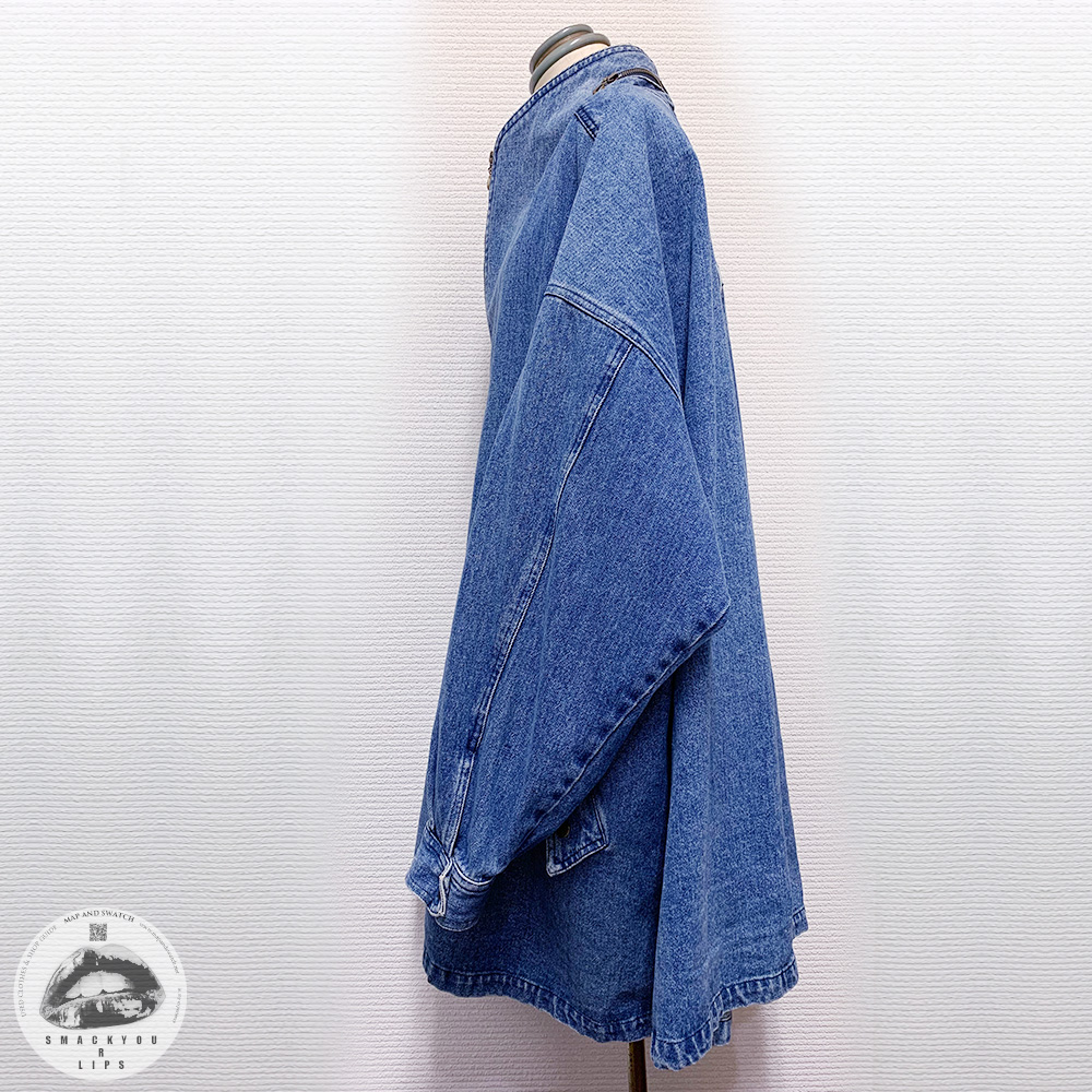 Denim Oversized Coat