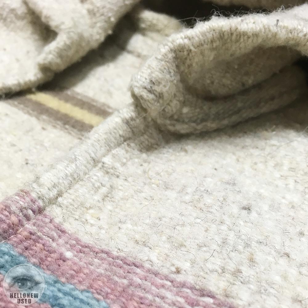 Native Pattern Rag Hoodie