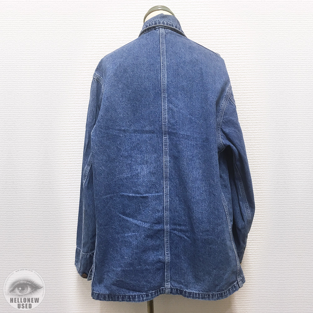Asymmetry Denim Coverall